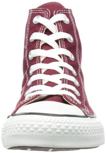 converse Ctas Core Hi, Sneaker uomo Rosso (Bordeaux)