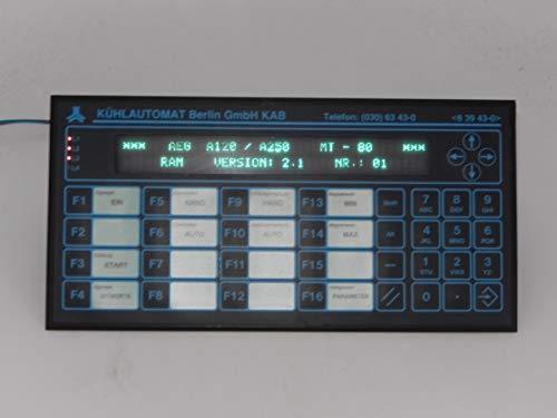 SAE Stahl MT-80 Bedienterminal, RAM VERSION 2.1 Nr.01 mit Software AEG A120/A250, mit Schnittstelle RS 232-C und beleuchtete Display, mit Branding, geprüft und ist voll funbktionsfähig - Rs-232c-schnittstelle