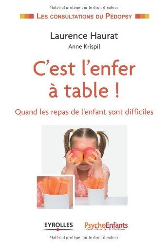 C'est l'enfer  table !: Quand les repas de l'enfant sont difficiles.