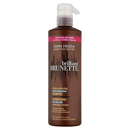 John Frieda Brilliant Brunette Couleur protéger Shampooing hydratant (500ml) - Lot de 2