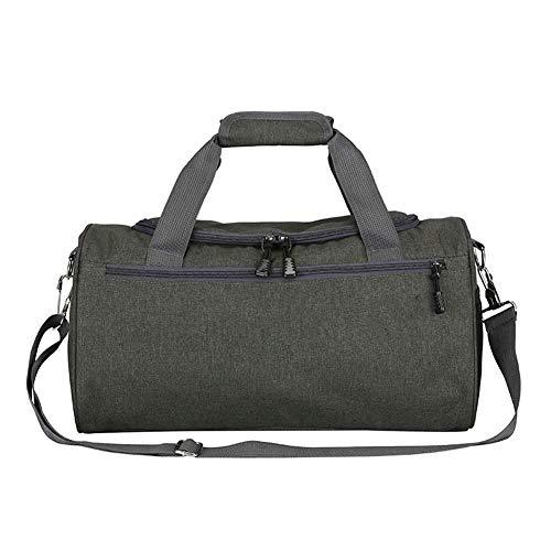 GONGFF Wasserfeste Reisetasche mit hoher Kapazität Mesh Seitentasche für Männer und Frauen, Pink -