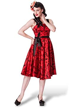 Vestito donna – Vestito Rockabilly – Stile anni '50 – Rock'n roll -Tatoo Flock – L