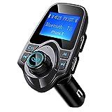 Mpow transmetteur FM Bluetooth Mpow Kit de Voiture Mains Libres sans Fil Chargeur...