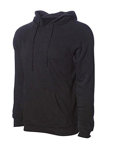 Unisex Midweight Special Blend Raglan Hooded Pullover, Größe:L, Farbe:Pomegranate (Blend Raglan)