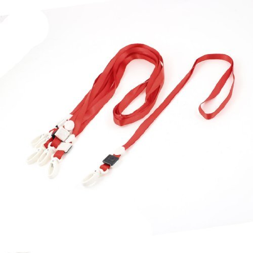 6-pc-office-school-polyester-keycord-id-kaart-houder-clip-red-lobster-w