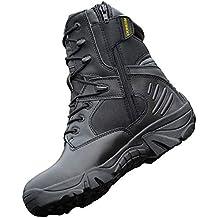 JPFCAK, Zapatos para Fanáticos del Ejército Al Aire Libre Botas Tácticas Altas Botas De Combate