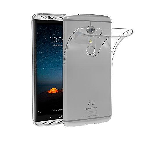 ZTE Axon 7 Hülle, AICEK Transparent Silikon Schutzhülle für ZTE Axon 7 Case Crystal Clear Durchsichtige TPU Bumper ZTE Axon 7 Handyhülle
