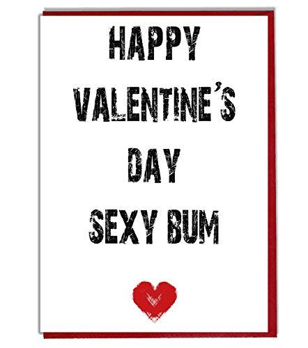 """""""Happy Valentine 's Day Sexy Bum""""–Lustige/freche ()"""