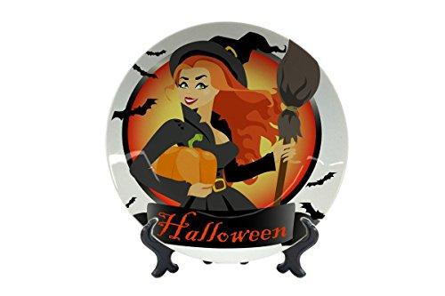 LEotiE SINCE 2004 Teller Nostalgie Halloween Keramik Bedruckt