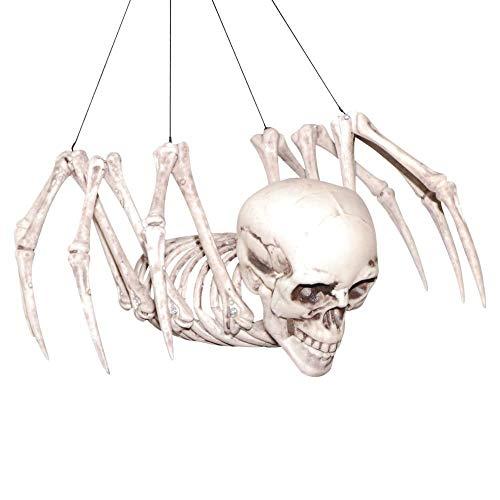 Spider Skeleton Halloween Prop