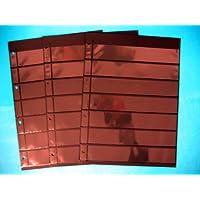 Prophila 3 doppelseitige Einsteckblätter schwarz 7zeilig