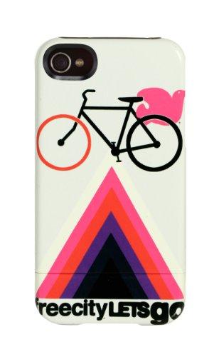 Uncommon C0003-V Free City Let's Go Bike Capusle Case für Apple iPhone 4/4S Let's Go Bike