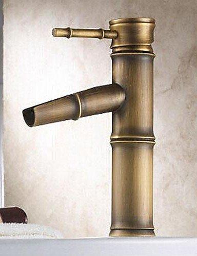 YFF@Ottone antico finitura lavandino rubinetto del bagno - Bamboo Shape Design
