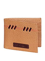 JUSTANNED Tan Mens Wallet (JTMW454-3)