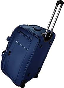 Thames Polyester 56 cms Travel Duffel Bag   Cabin Bag (Blue)