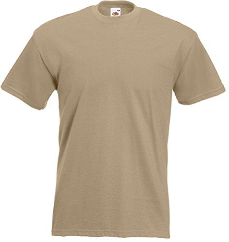 T-Shirt 'Super Premium Tee', Farbe:Khaki;Größe:M M,Khaki