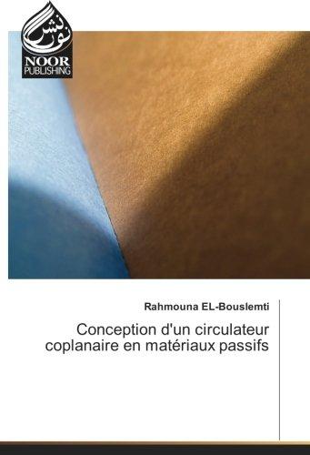 Conception d'un circulateur coplanaire en matériaux passifs