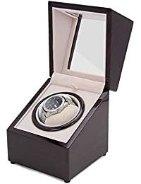amazon co uk kinetic watch winders accessories watches chiyoda automatic watch winder 8 speed modes quiet motor larger interior space suitable for the