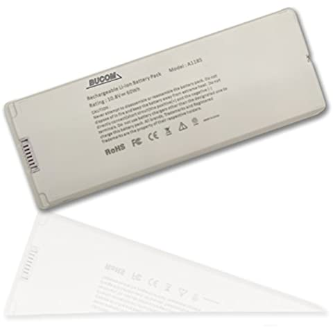 'Batería para Apple MacBook 13 A1185 A1181 MA561 MA561 battery MA254/A blanco
