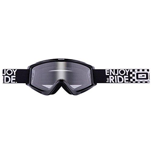 O'Neal B-Zero Goggle Moto Cross MX Brille Downhill Enduro Motorrad Mountainbike, 6025-10, Farbe schwarz