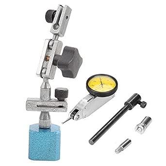 Magnetfuß 0 0 8 Mm Magnetische Messuhr Fuß Ständer Halter Ständer Aluminiumlegierung Einstellbare Kleine Messuhr Ständer Für Messuhr Und Vergleicher Gewerbe Industrie Wissenschaft