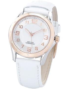 St. Leonhard Schweizer Uhren: SWISS MADE Damen-Armbanduhr wasserdicht, roségold (Swiss Made Damenuhr)