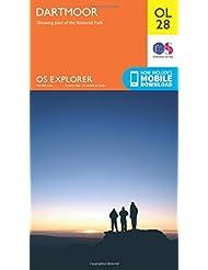 OS Explorer OL28 Dartmoor (OS Explorer Map)