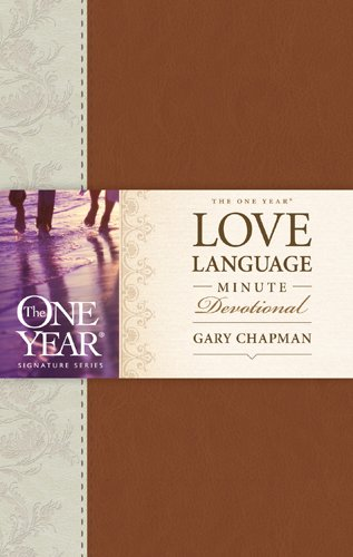 The One Year Love Language Minute Devotional Hardcover