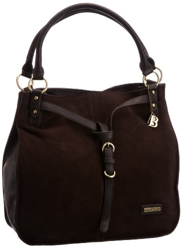 Bag Borsa The 21064 Marrone donna a scuro blu Bulaggi spalla 5wf6xFqtt