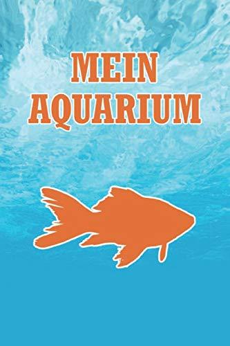 Mein Aquarium: Punktiertes Notizbuch mit 120 Seiten zum festhalten für alle Notizen, Termine, Zeichnungen und vieles mehr - Ebenfalls eine tolle Geschenkidee