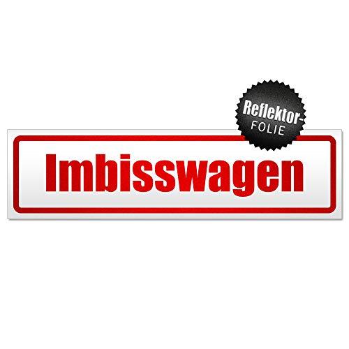 Kiwistar Imbisswagen Magnetschild Schild magnetisch