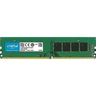 Crucial CT8G4DFS824A 8GB Speicher (DDR4, 2400 MT/s, PC4-19200, Single Rank x8, DIMM, 288-Pin)