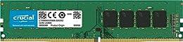 Crucial CT8G4DFS824A 8GB Speicher (DDR4, 2400 MT/s, PC4-19200, SR x8, DIMM, 288-Pin)
