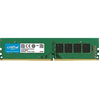 Crucial - Memoria RAM de 4 GB (DDR4, 2133 MHz, PC4-17000, single rank, DIMM 288 pin)