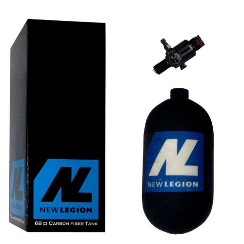 New Legion Paintball Dwarf Composite inkl. Ninja UL Regulator, 1.1 Liter, 61508