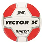 Vector X Speed 18P Volleyball (White)