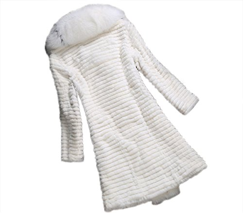 AORUI Damen Mantel Weiß - Weiß