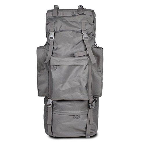 GOUQIN Outdoor Rucksack Klassische Mode Von Outdoor Dual Umhängetaschen 100 L Masse Klettern Taschen Wandern Paket Tasche D