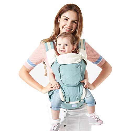 Mondeer Porte Bébé Ventral,Toutes Saisons,Ergonomique pour Bébé,Confort et  Protection Complète 7e33b5ae09f