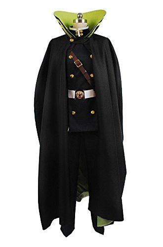 Saotome Yoichi Kostüm - Seraph of The End Yuichiro Hyakuya Uniform Outfit Cosplay Kostüm Herren XXXL