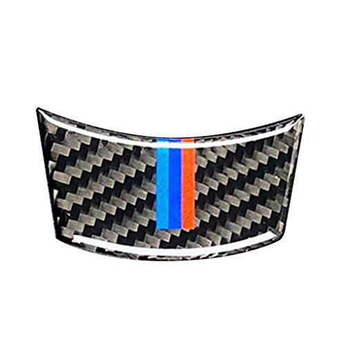 pour BMW Série 5 E60 2004-2010 en Fibre de Carbone M-Bande Volant de Voiture Couverture Garniture intérieure Décor Decal Accessoires