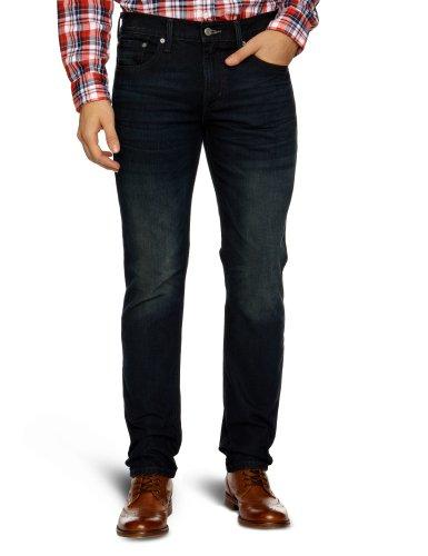 Levi's Herren Jeans 501 Original Straight Fit Blau (Midnight Oil 0713)
