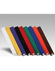 Cinturón de artes marciales Karate Taekwondo judo Cinturones de Kickboxing por Atletismo Gear, negro