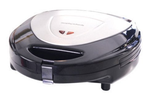 Morphy Richards Toast, Waffle and Grill Sandwich Maker (Silver and Black)  available at amazon for Rs.3999