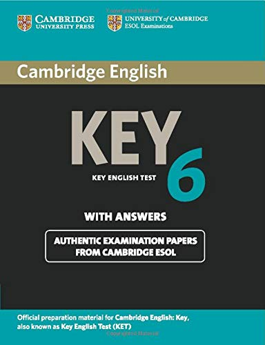 Cambridge English Key 6 Student's Book with Answers
