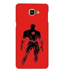 EPICCASE Burning flash Mobile Back Case Cover For Samsung Galaxy A9 (Designer Case)