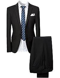 Suchergebnis auf Amazon.de für  Schwarz - Anzüge   Anzüge   Sakkos ... 77f2580582