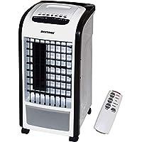 Syntrox Germany Appareil 4-en-1 avec fonction refroidisseur d'air, humidificateur d'air, ventilateur et désodorisant avec télécommande 800m³/h Noir