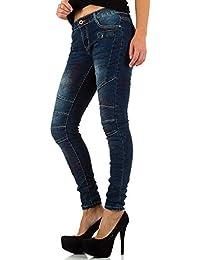 b6cd681e0530f7 Suchergebnis auf Amazon.de für: biker jeans - Blau / Damen: Bekleidung