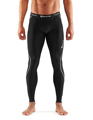 SKINS DNAmic Team Thermal Mallas largas, Hombre, Negro, Medium
